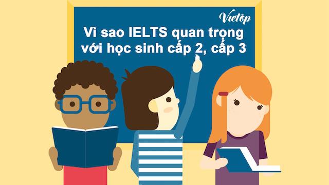 Vì sao IELTS quan trọng với học sinh cấp 2-3